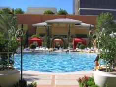 Wynn pool Las Vegas.