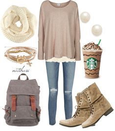 this is a cute comfy outfit for school, the mall, or just hangen with friends! (perfect for those white girls)