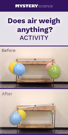 Weight of Air Activity - free hands-on science activity for 4th and 5th grade elementary kids. Part of a complete unit on Ecosystems: Ecosystems & the Food Chain. Meets Common Core and NGSS.