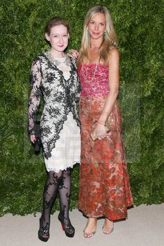 Vogue's Sarah Brown Meredith Melling Burke (!!!) at the Vogue/CFDA 2012 Fashion Fund Dinner.