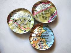 Must make THEESE with my grandchildren with all of our family vacations. How to Make Glass Marble Magnets With Any Image VIA Snapguide