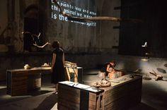#AnimalSpirits temporary Concept Store interior design Liviana Osti & Mali Weil, light design Fabio Saijz - at #Fies - ph. Alessandro Sala per Centrale Fies #stayanimalspirit