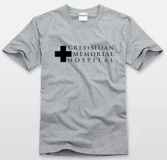 Grey's Anatomy GREY+SLOAN MEMORIAL HOSPITAL T-shirt