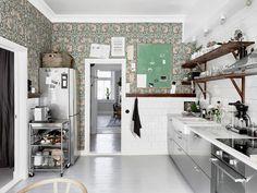vintage-koti-keittio-tapetti
