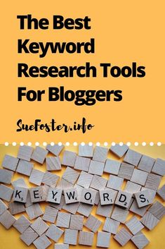 Best Keyword Research Tools For Bloggers | suefoster.info #keywordtools #SEO Blog Online, Online Jobs, How To Start A Blog, How To Find Out, Make Money Blogging, Blogging Ideas, Blog Planning, Seo Strategy, Work From Home Jobs