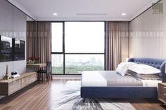 Thiết kế nội thất căn hộ landmark 6 Vinhomes Central Park - Interior design