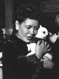 Billie Holiday (born Eleanora Fagan April 1915 – July was an American jazz singer and songwriter. Billie Holiday, Lady Sings The Blues, Music Pics, 50s Music, Bless The Child, Women In History, Black History, Jazz Musicians, Jazz Blues