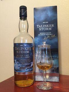 Whisky Review #10 - Talisker Storm #scotch #whisky #whiskey #malt #singlemalt #Scotland #cigars