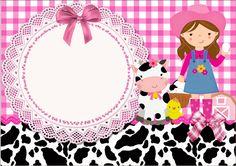 Fazendo a Propria Festa: Kit de Personalizados Gratuitos Fazendinha Menina