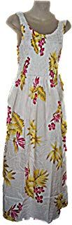 Hawaiian Pink Plumeria Floral Print Long Tank Top Summer Luau Cruise Vacation Sundress ONE Size (M-XL-See Measurements) Pretty Dresses For Women, Summer Dresses For Women, Long Tank Tops, Summer Tank Tops, Summer Dress Patterns, Casual Summer Dresses, Cruise Vacation, Luau, Hawaiian