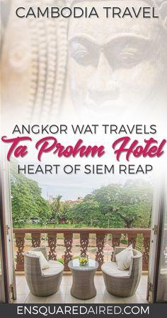 Ta Prohm Hotel | Rich With History And Stunning Art| things to do in siem reap, siem reap cambodia, siem reap pub street, siem reap hotel, siem reap luxury hotel, siem reap boutique hotel, siem reap hotel resorts, siem reap hotel angkor wat, siem reap travel, siem reap spas, cambodia hotel, cambodia hotel angkor wat, cambodia hotel adventure, cambodia hotel wanderlust, siem reap budget #enSquaredAired