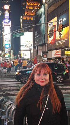 Me on Broadway, New York. Photo by Carey Normand, October, 2013
