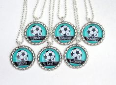 Girl Soccer Party Favors Sports Party favors for by yayadiyclub, $5.99