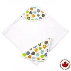Kushies Hooded Towel and Wash Cloth
