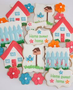 Home sweet home cookies by Miss Biscuit