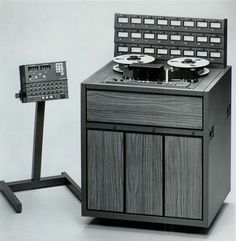 MCI JH-24 Tape Machine. I did a lot of recording on one of these way back when. It was a workhorse machine, found more on the East Coast than West (MCI was based in Miami). #recording