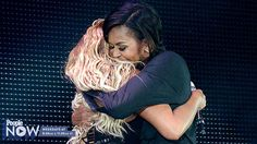 VIDEO: Beyoncé and Michelle Obama Hug It Out in Central Park!