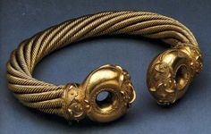 The great Celtic torc from Snettisham