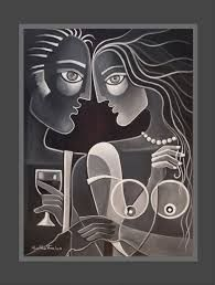 Image result for picasso paintings textured art