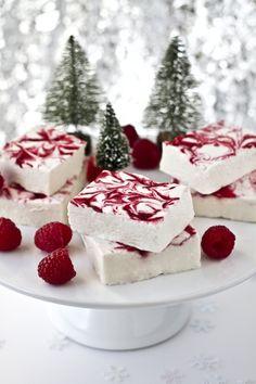 Raspberry Swirl Marshmallow #raspberry #marshmallow #dessert #snack #sweet #recipe #recipes