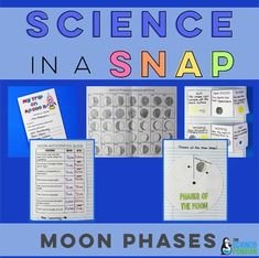 Moon Phases in a Snap-- great for 2nd grade!