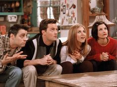 A collective gasp could be heard from Friends fans far and wide when it was announced that alums Matt LeBlanc and Matthew Perry were not invited to Jennifer Aniston& wedding. While Courtney Cox and Lisa Kudrow were notably in attendance, LeBlanc… Tv: Friends, Friends Tv Show, Friends Trivia, Serie Friends, Friends Scenes, Friends Cast, Friends Episodes, Friends Moments, Friends Forever