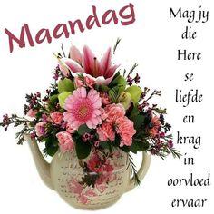 Afrikaanse Quotes, Goeie More, Friendship Quotes, Cabbage, Happy Birthday, Vegetables, Amanda, Van, Food