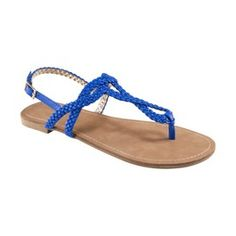 Gator blue sandals from Target... must have!
