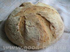 Простой деревенский хлеб на простокваше