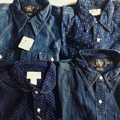 f71867efce Indigo Wabash shirt my favorite things - Erika M