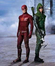 FLASH and ARROW Banter In New Crossover Promo | Newsarama.com