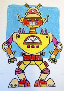 Symmetrical Robot