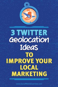 Do you want to reach more locals with Twitter?  Using geolocation data can help you find the right people to connect with on Twitter.  In this article, you'll discover three ways to use geolocation coordinates to build stronger connections with Twitter. Via @smexaminer.