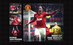 13 Jan Barclays Premier League - Liverpool (H) - Man Of The Match - Robin Van Persie