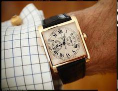 cartier monopusher chronograph / vintage cartier pasha cufflinks