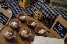 Real Hot Chocolate with homemade marshmallows. Made by Chef Brandie Villanova of JORDAN Caterers