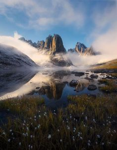 "Photo: ""Broken Clouds"" By Marc Adamus www.marcadamus.com Ok, this is the last image I'm posting for critique for awhile. Some of you people have been good at catching small things on a variety of my recent posts from the road. Here's another one for you. Yes, the light and atmosphere was the real thing, but the image overall utilizes a lot of adjustments and magic tricks in processing - the usual. This has taken me a whopping 30 minutes so far, so have at it. Thanks. - Marc Adamus…"