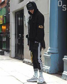 207a5d770  Follow  IllumiLondon for more Streetwear Collections   IllumiLondon   Streetwear Adidas Sweatpants