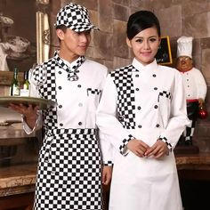2017 Chef Uniform Chef Uniform Real Hot Sale Cotton Men Accessories Broadcloth Autumn And Winter Hotel Service