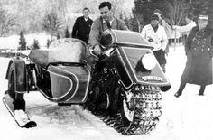 The 1936 BMW snow machine