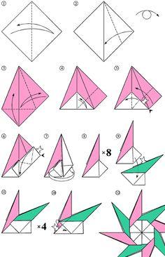 цветок-звезда оригами: 11 тыс изображений найдено в Яндекс.Картинках