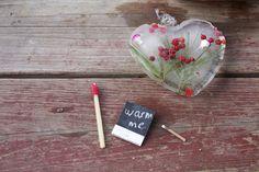 Poppytalk: Valentine's DIY No. 3: Matchstick Beeswax Candles