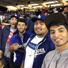 THINK BLUE: Last minute Dodger game last night was super fun and Dodgers won as well  #Dodgers #IDontEvenWatchBaseball #tfti #homies #longbros #Angels #whataresportsanyway by skatingbum