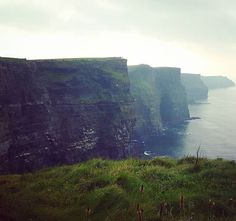 Today I went to the Cliffs of Moher.  So spectacular!  This rocky wall is 8 km long and every bit is such a breathtaking sight. I love how nature can make you remember what it's like to feel alive again.  #cliffsofmoher #ireland #nature #alive #spectacular #breathtaking #doolin #liscannor #sight #travel #october #2015