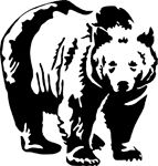 Check out this great sticker at Carstickers.com! Big Black Bear Sticker
