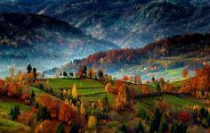 Transylvanian Landscape by Robciuc Alex