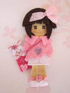 Felted Girl....you need to see all the lovely girls on this website....such an inspiration!
