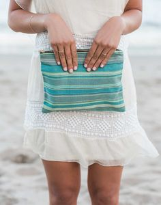The perfect summer accessory! Laguna Travel Bag from The Little Market