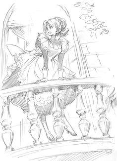 Kaoru Mori's art is so good ; Dark Drawings, Cool Drawings, Comics Illustration, Illustrations, Manga Art, Anime Art, Manga Drawing Tutorials, Drawing Base, Art Reference Poses