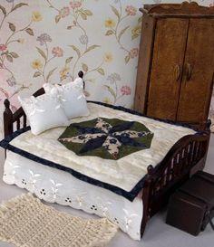 miniature dolls house quilt pdf pattern